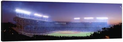 Baseball, Cubs, Chicago, Illinois, USA Canvas Art Print