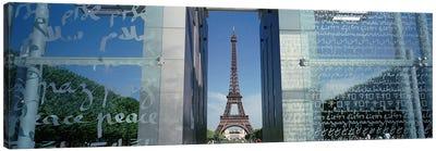 Eiffel Tower Paris France Canvas Print #PIM4200