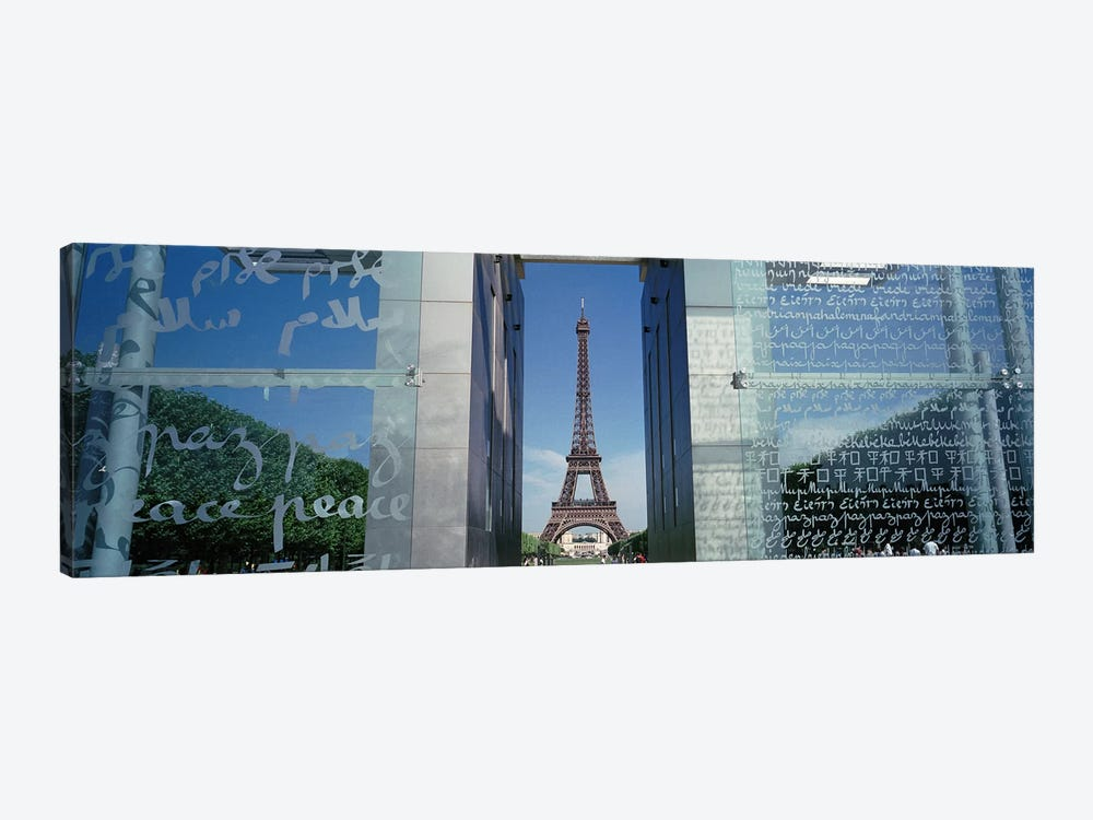 Eiffel Tower Paris France by Panoramic Images 1-piece Canvas Print