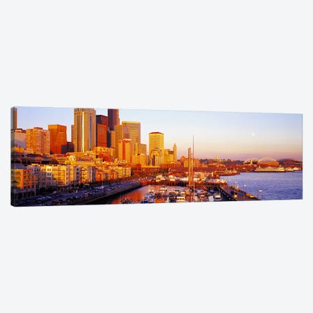 Seattle Washington USA Canvas Print #PIM4210} by Panoramic Images Canvas Wall Art