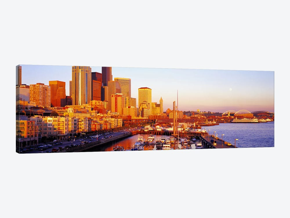 Seattle Washington USA by Panoramic Images 1-piece Canvas Wall Art