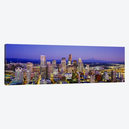 SeattleWashington State, USA Canvas Print #PIM4211} by Panoramic Images Canvas Wall Art