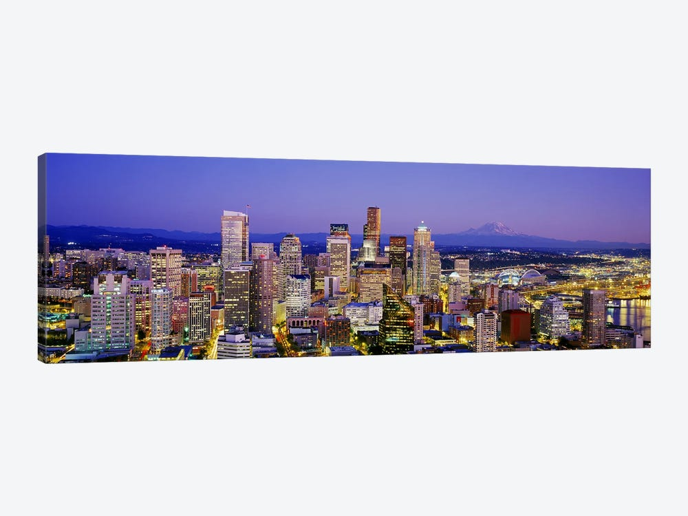 SeattleWashington State, USA by Panoramic Images 1-piece Canvas Art Print