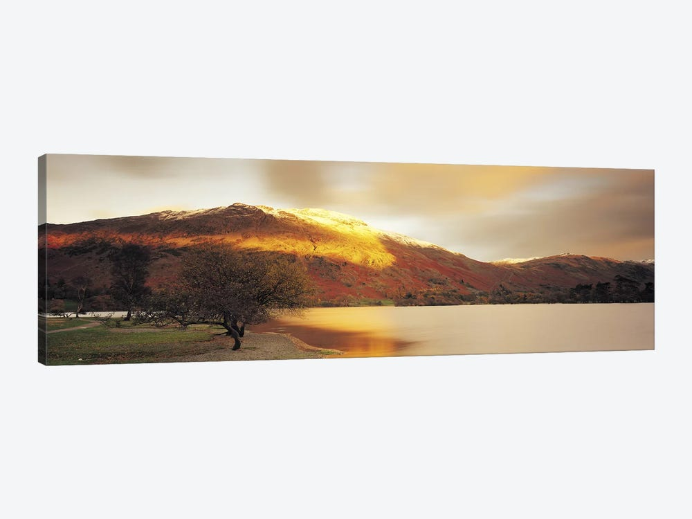 Golden Autumn Sunlight, Ullswater, Lake District, England, United Kingdom by Panoramic Images 1-piece Canvas Art Print