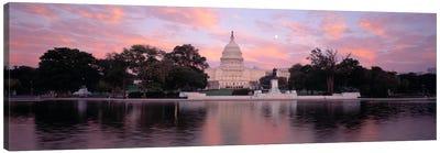 US Capitol Washington DC Canvas Print #PIM421