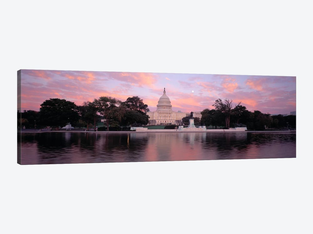 US Capitol Washington DC by Panoramic Images 1-piece Canvas Wall Art