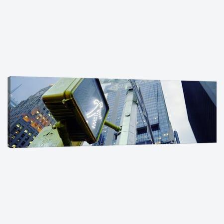 Walk Signal New York New York USA Canvas Print #PIM4220} by Panoramic Images Art Print