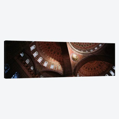 TurkeyIstanbul, Suleyman Mosque, interior domes Canvas Print #PIM4228} by Panoramic Images Canvas Print