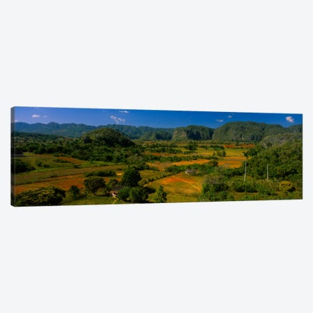 Tropical Karstic Landscape, Valle de Vinales, Pinar del Rio, Cuba Canvas Print #PIM422} by Panoramic Images Canvas Artwork