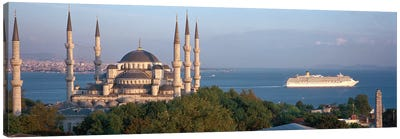 Blue Mosque Istanbul Turkey Canvas Print #PIM4230