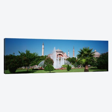 Hagia Sofia Istanbul Turkey Canvas Print #PIM4231} by Panoramic Images Canvas Wall Art