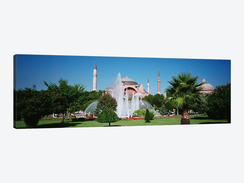 Hagia Sofia Istanbul Turkey by Panoramic Images 1-piece Art Print