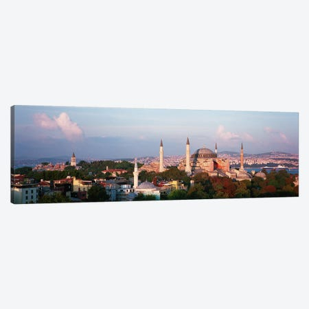 TurkeyIstanbul, Hagia Sofia Canvas Print #PIM4232} by Panoramic Images Canvas Artwork