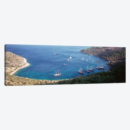 Kalkan Turkey Canvas Print #PIM4238} by Panoramic Images Canvas Artwork