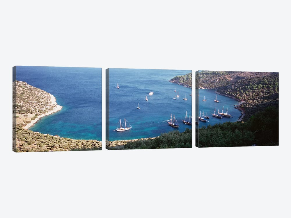 Kalkan Turkey by Panoramic Images 3-piece Canvas Artwork