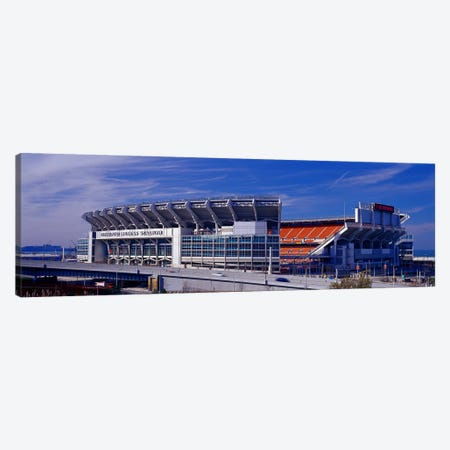 Cleveland Browns Stadium Cleveland OH Canvas Print #PIM4239} by Panoramic Images Canvas Art