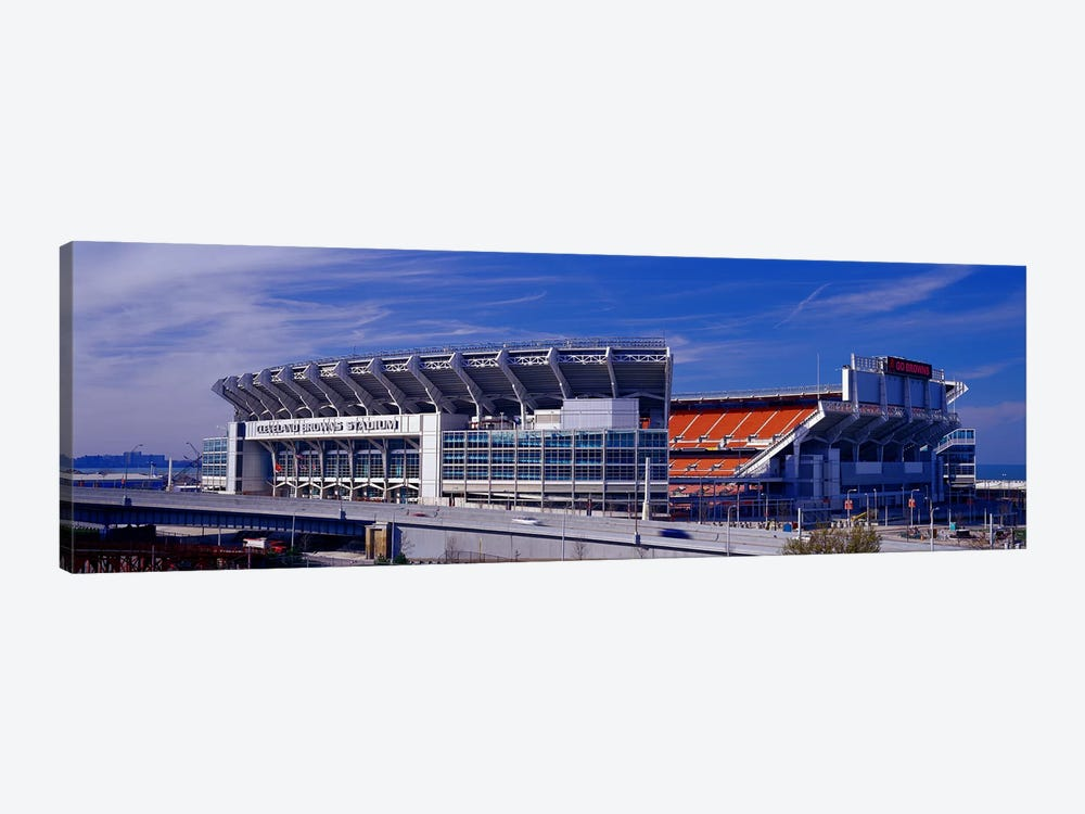 Cleveland Browns Stadium Cleveland OH by Panoramic Images 1-piece Art Print