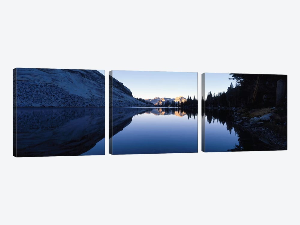 Emeric Lake Yosemite National Park CA by Panoramic Images 3-piece Canvas Artwork