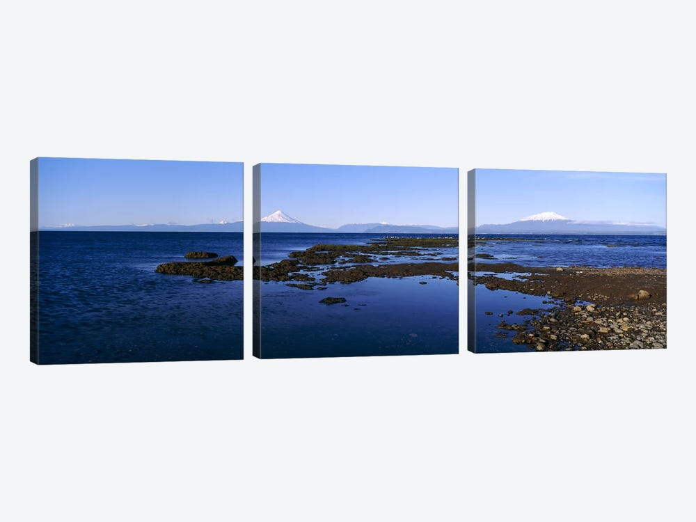 Lianquihue Lake Osorno Chile by Panoramic Images 3-piece Canvas Print