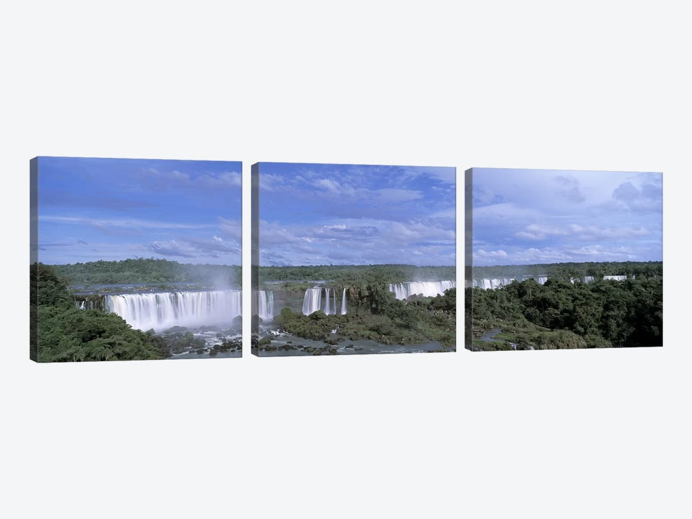 Iguazu Falls Iguazu National Park Brazil by Panoramic Images 3-piece Canvas Art