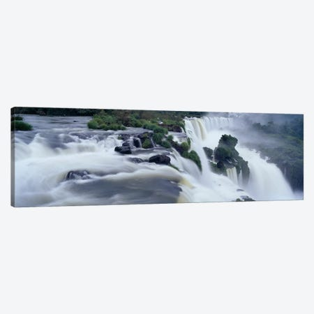 Iguazu Falls, Iguazu National Park, Misiones Province, Argentina Canvas Print #PIM4244} by Panoramic Images Canvas Wall Art