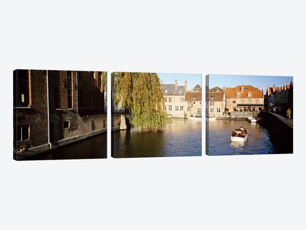 Brugge Belgium by Panoramic Images 3-piece Canvas Art Print