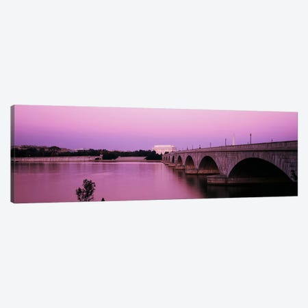 Memorial BridgeWashington DC, District of Columbia, USA Canvas Print #PIM4254} by Panoramic Images Canvas Art Print