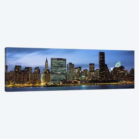 Manhattan, NYC, New York City, New York State, USA Canvas Print #PIM4256} by Panoramic Images Art Print