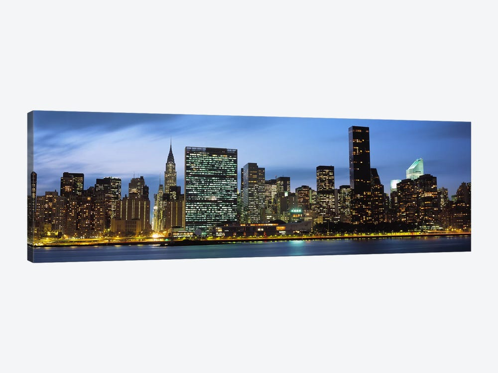 Manhattan, NYC, New York City, New York State, USA by Panoramic Images 1-piece Canvas Wall Art
