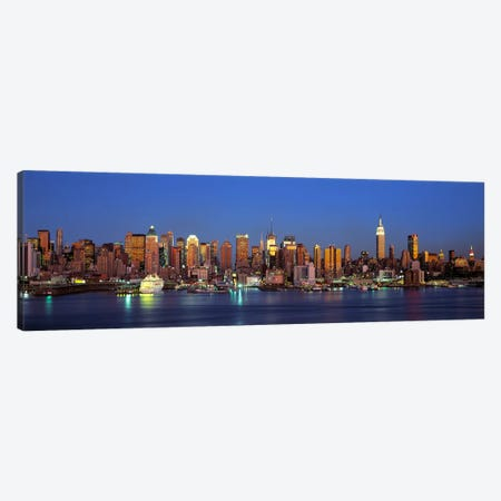 NYCNew York City New York State, USA Canvas Print #PIM4259} by Panoramic Images Canvas Artwork