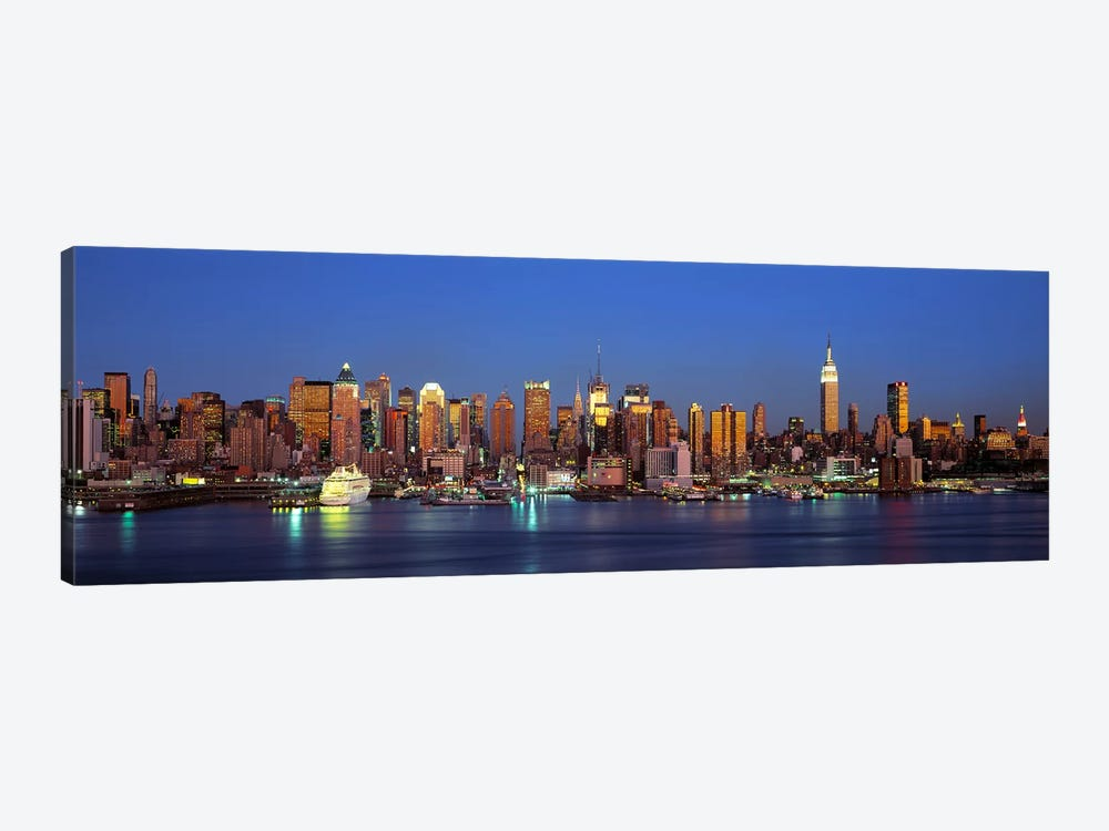 NYCNew York City New York State, USA by Panoramic Images 1-piece Canvas Print