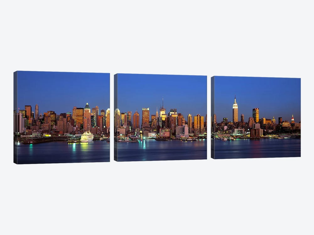 NYCNew York City New York State, USA by Panoramic Images 3-piece Art Print