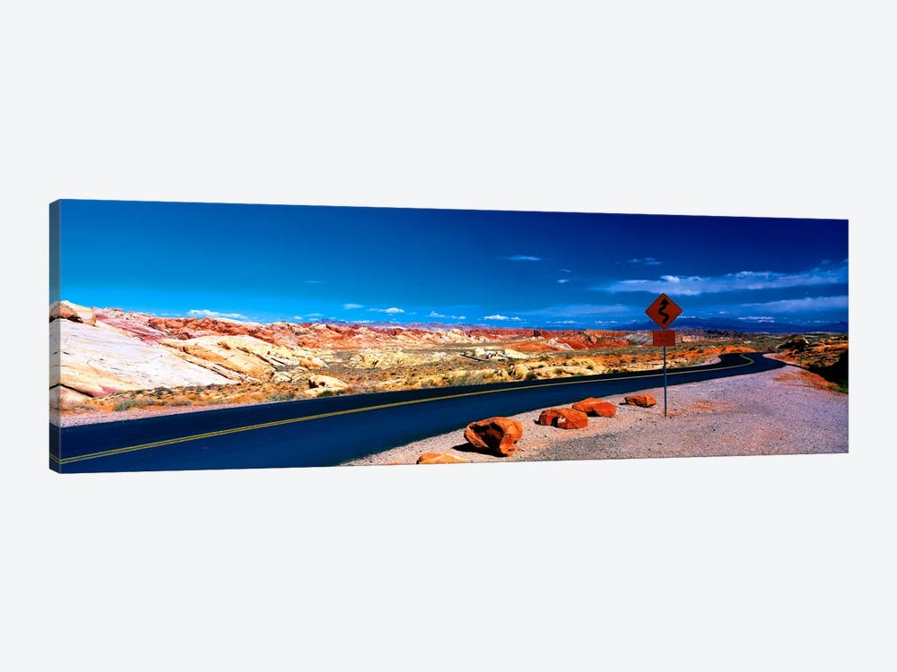 Road Valley of Fire State Park Overton NV by Panoramic Images 1-piece Canvas Art