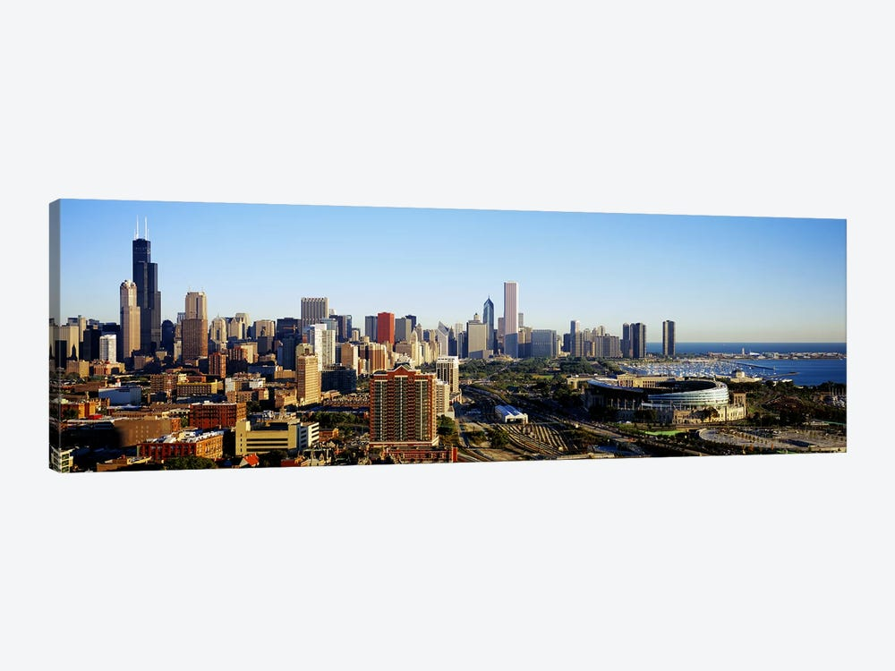Chicago, Illinois, USA #2 by Panoramic Images 1-piece Canvas Print