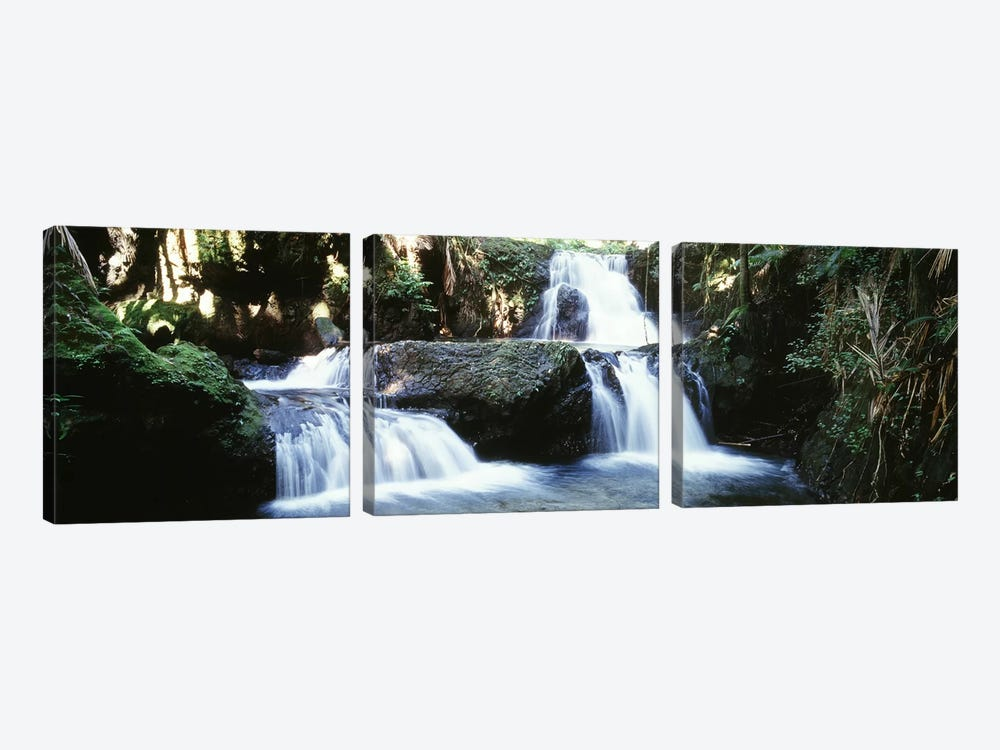 Waterfalls Hilo HI by Panoramic Images 3-piece Canvas Art