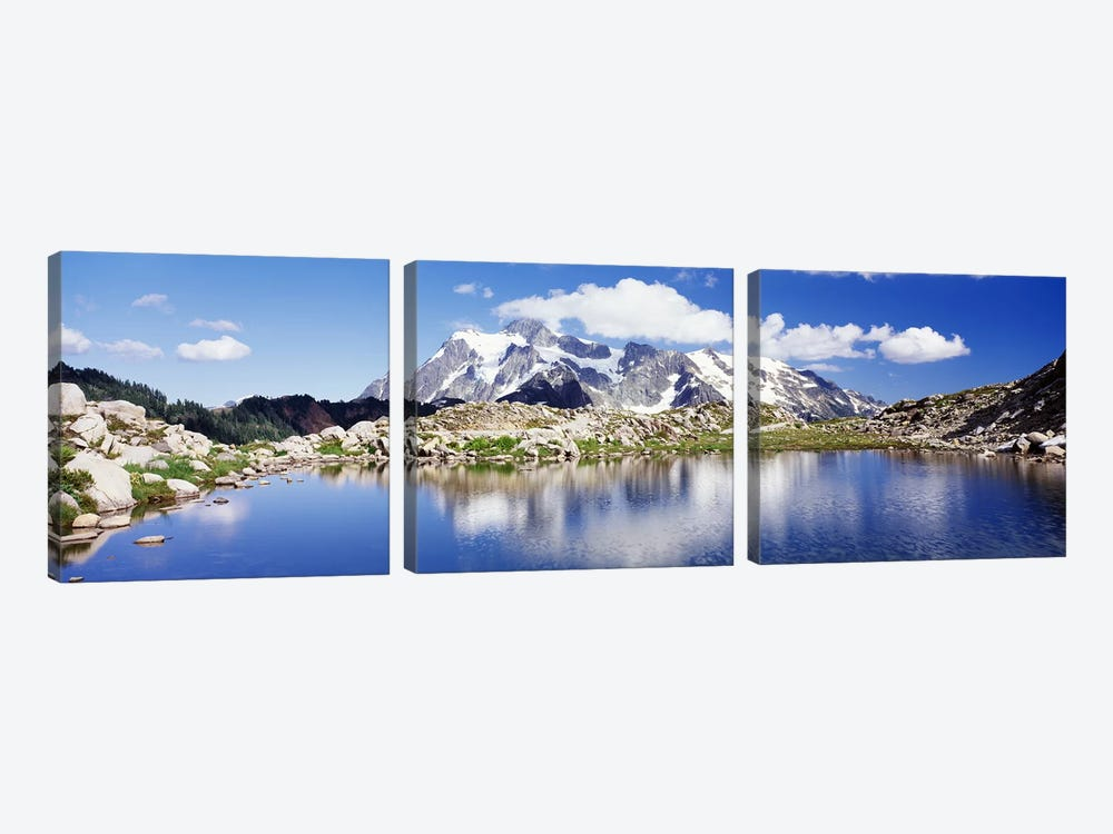 Mt Baker Snoqualmie National Forest WA 3-piece Art Print