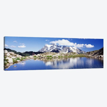 Mt Baker Snoqualmie National Forest WA Canvas Print #PIM4268} by Panoramic Images Canvas Art Print