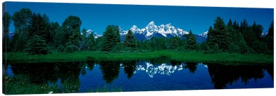 Snake River & Teton Range Grand Teton National Park WY USA Canvas Art Print