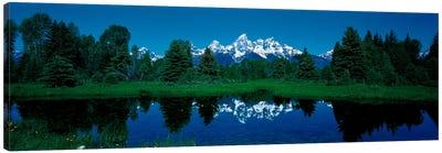 Snake River & Teton Range Grand Teton National Park WY USA Canvas Art Print