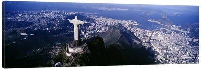 Aerial View I, Rio de Janeiro, Southeast Region, Brazil Canvas Art Print