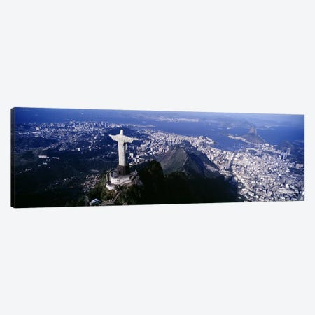 Aerial View I, Rio de Janeiro, Southeast Region, Brazil Canvas Print #PIM4270} by Panoramic Images Canvas Artwork
