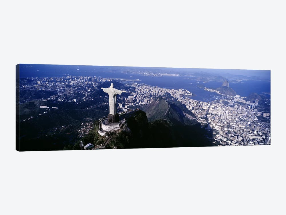 Aerial View I, Rio de Janeiro, Southeast Region, Brazil by Panoramic Images 1-piece Canvas Artwork