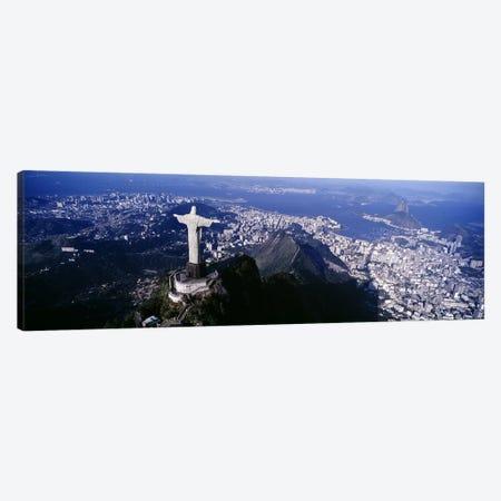 Aerial View I, Rio de Janeiro, Southeast Region, Brazil Canvas Print #PIM4270} by Panoramic Images Canvas Artwork