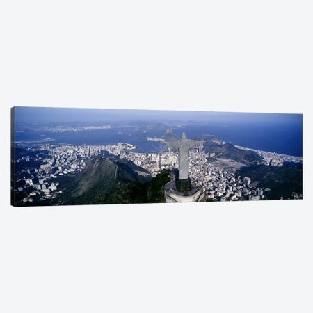 Aerial View II, Rio de Janeiro, Southeast Region, Brazil Canvas Print #PIM4271} by Panoramic Images Canvas Wall Art