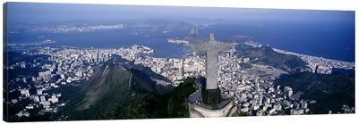 Aerial View II, Rio de Janeiro, Southeast Region, Brazil Canvas Print #PIM4271