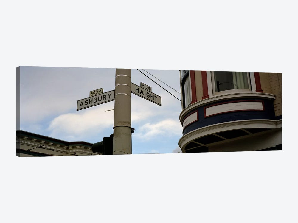 Haight Ashbury District San Francisco CA by Panoramic Images 1-piece Canvas Art Print