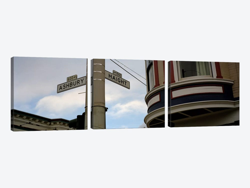 Haight Ashbury District San Francisco CA by Panoramic Images 3-piece Art Print