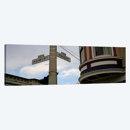 Haight Ashbury District San Francisco CA Canvas Print #PIM4273} by Panoramic Images Canvas Wall Art
