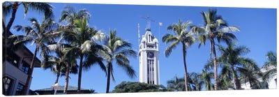 Low angle view of a tower, Aloha Tower, Oahu, Honolulu, Hawaii, USA Canvas Print #PIM4275