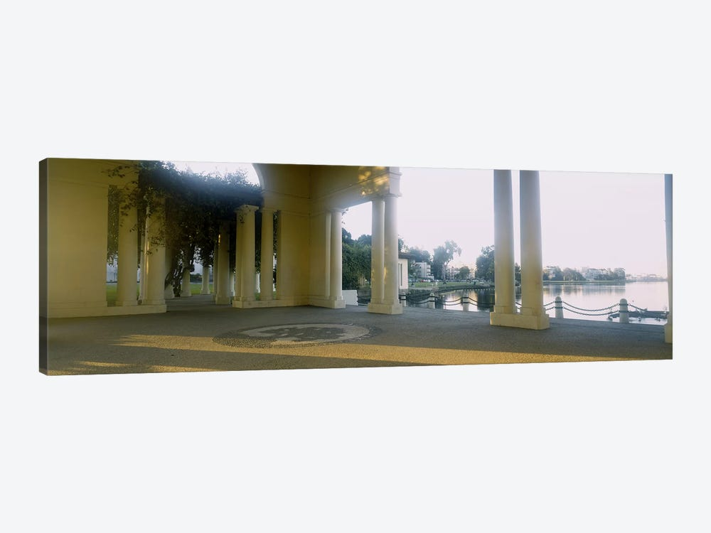 Building on the waterfront, Lake Merritt, Oakland, California, USA by Panoramic Images 1-piece Canvas Wall Art